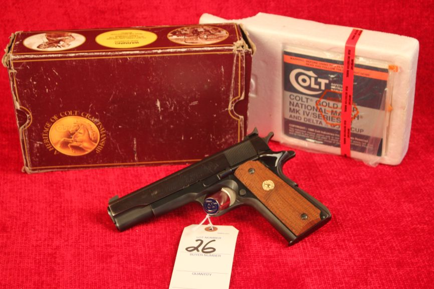 2-Day Private Collection Firearms Auction – Diamond S  Auctions