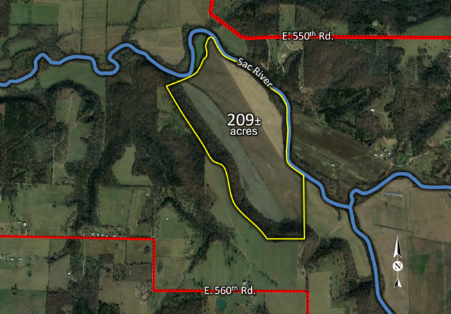 Dodd Tract Map