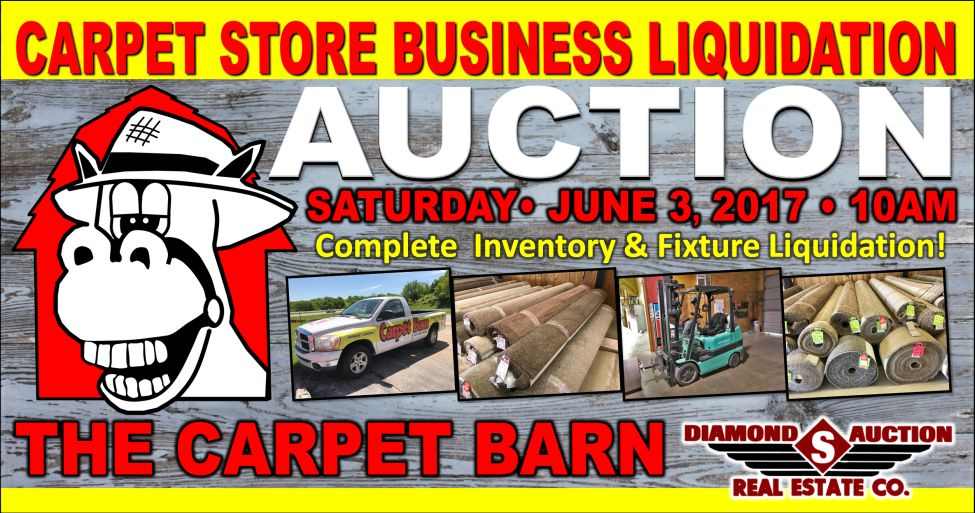 Carpet Business Liquidation Auction