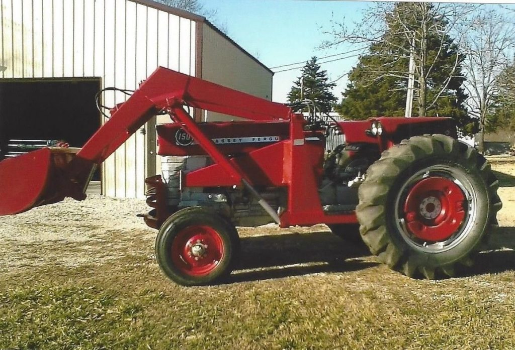 Dunlap tractor