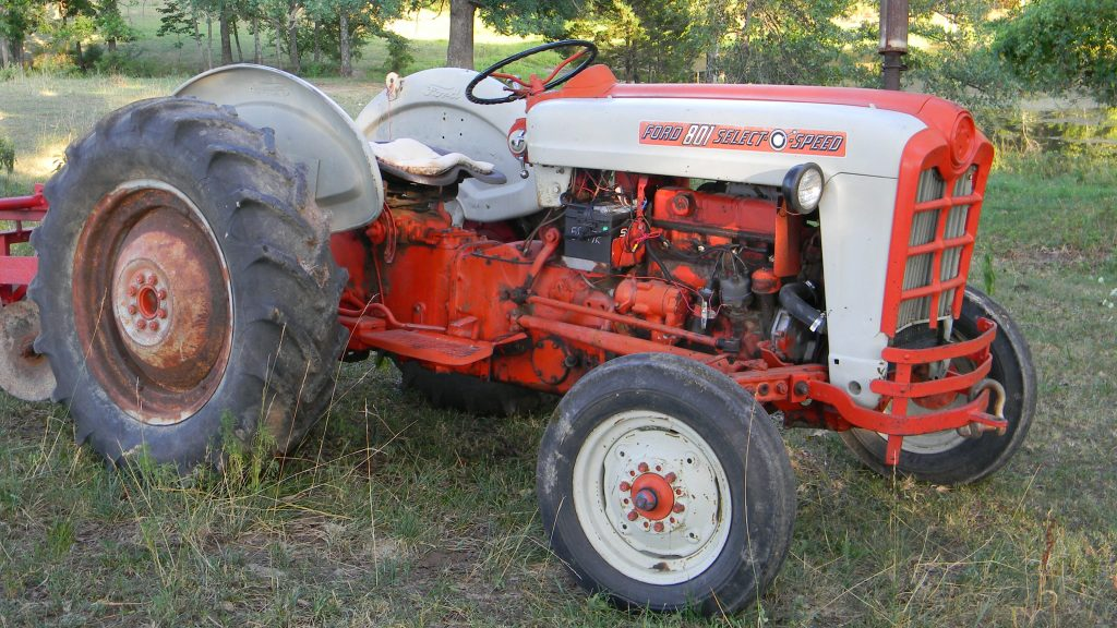Ford tractor 008