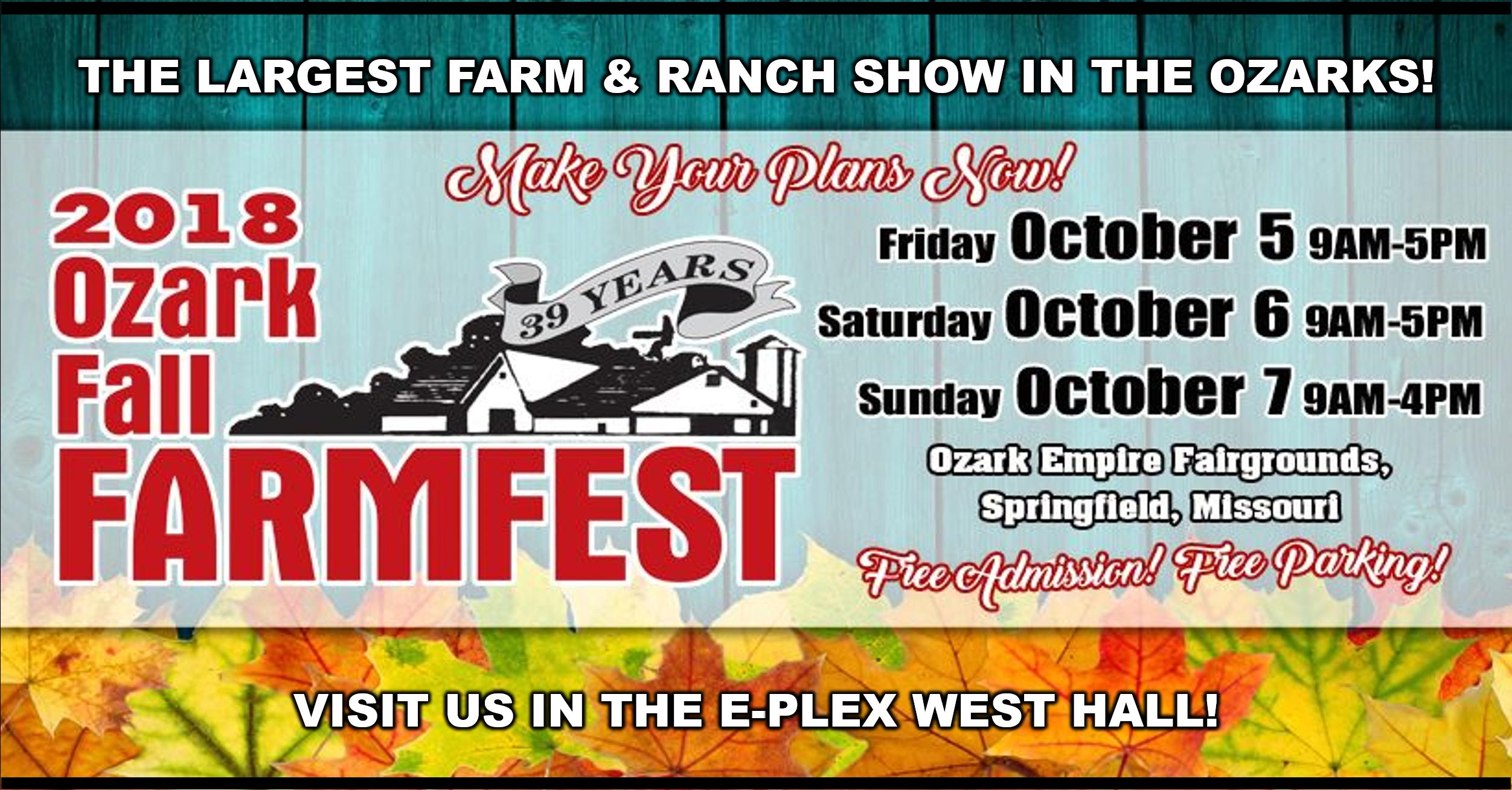 39th Annual Ozarks Fall Farmfest
