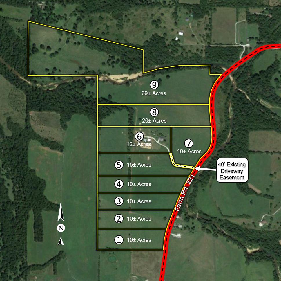 Hilger-Jansen Tract Map