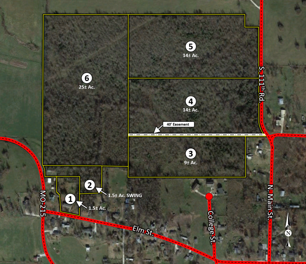 Dodd Tract Map Corrected